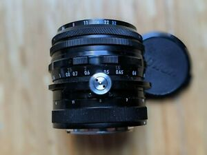 Nikon PC-Nikkor 1:2.8 35mm Perspective Control/Shift Lens