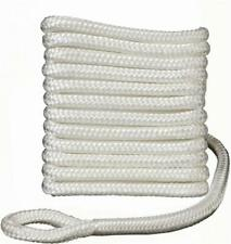 "Attwood Double Braided Fender Lines - 1/4"" X 5' - White - Pkg contains 2 lines"