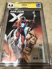 Major X 0 CGC SS 9.8 Rob Liefeld Auto X Force Deadpool Movie 10/19