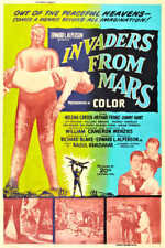 1953 Invaders From Mars Vintage Sci-Fi Movie Poster Print Style B 54x36 9 Mil