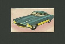 Chrysler Corsaire Experimental 1950s Automobile Car Spanish Collector Card #190