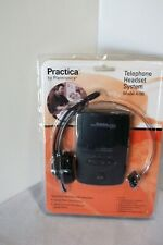 Practica Telephone Headset System With Amplifier Model A100 New