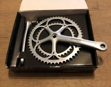 Campagnolo Record Carbon 10 Speed Square Taper Crankset Crank 175mm 53/39