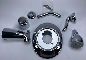 American Standard T508502.002 Princeton Bath and Shower Trim Kit Only, Chrome