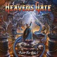 HEAVENS GATE - Best For Sale! CD 2015 Remastered inkl. Slipcase, Poster+Sticker