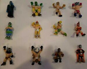 Set of 12 HOMIES Style Luchador VINYL Figures