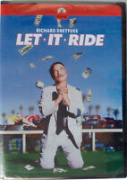 Let It Ride (DVD, 2001) Widescreen / Region 1 / NTSC / Factory sealed