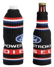 NEW FORD POWERSTROKE DIESEL KNITTED ACRYLIC INSULATOR FITS BOTTLES MADE IN USA!