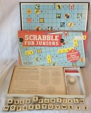 Collectable Vintage Scrabble For Juniors Board Game By Spears Games (#1)