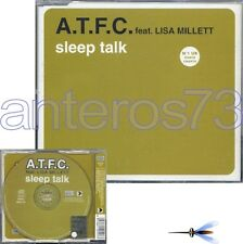 "A.T.F.C. feat LISA MILLETT ""SLEEP TALK"" CDM ITALY 6tr"