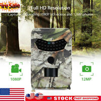 HD18MP1080P Hunting Trail Camera Video Wildlife Scouting Infrared Night Vision