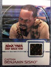 C11 Captain Benjamin Sisko - Star Trek Deep Space Nine DS9 Costume Auto Card