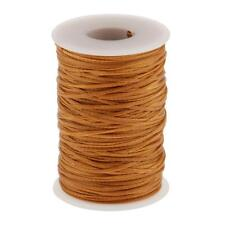 70 Meter Flat Waxed Line Cord Leather Craft Sewing String Thread Line 1.2mm