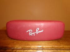 Ray Ban Sunglass Case Maroon Color
