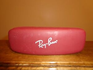 Ray Ban Eye-glass Case Maroon Color