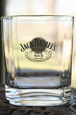 Whiskey Glass Jack Daniel's Old No.7 Square Almost Mint!