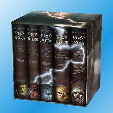 PERCY JACKSON Band 1+2+3+4+5 | 5 Hardcover Bände im Schuber | Band 1-5  (Buch)