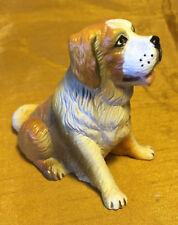 "Vtg 3"" New-Ray Rubber St. / Saint Bernard Dog Figurine"