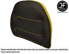 STYLE2 YELLOW BLACK VINYL CUSTOM FOR HONDA GOLDWING GL 1500 88-00 BACKREST COVER