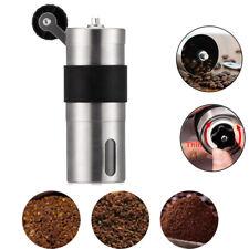 Manual Coffee Bean Grinder Kitchen Ceramic Burr Mini Hand Mills Stainless Steel