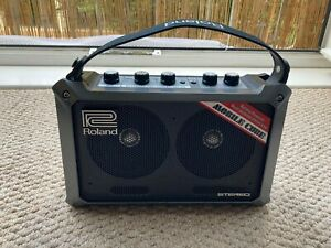 Roland battery powered mobile street cube, preowned, batteries included