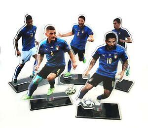 Figures - Italy Football Team Euro Champions - Verrat/Jorginho/Insigne/Immobile