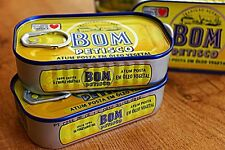 Portuguese Canned Tuna fish Bom petisco Classic - Vegetable Oil / 3 x 120 gr