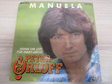 Single /  Peter Orloff – Manuela   /  DE PRESS / RAR /
