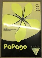 Clairefontaine PaPago A3 Paper, Fluorescent Yellow, 297x420mm 80gsm x 500 Sheets