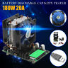 20A 180W Current Electronic Load Battery LCD Discharge Capacity Tester +Cable
