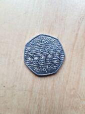 50p Benjamin Britten Rare 2013 - Fifty Pence Coin