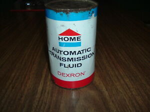 antique home oil automatic transmission can in good used condition