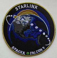 """SpaceX STARLINK Mission Concept Patch NASA F9 3.5"""" Iron On/Sew on"""