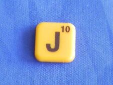 Words With Friends Single Magnet J Tile Replacement Game Parts Pieces Craft