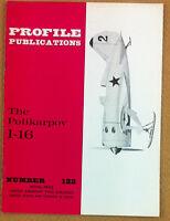 Aeronautica - Aviation - Profile Publications - N° 122 - The Polikarpov I-16