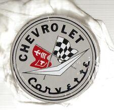 "2.25"" Round,- Chevrolet Corvette Porcelain Magnet  or Sign"