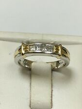 Stunning 18 Carat White Gold Princess Cut DIAMOND ETERNITY RING