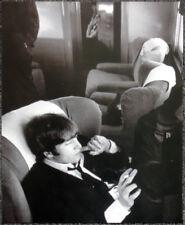 THE BEATLES POSTER PAGE . 1964 JOHN LENNON NEW YORK TO WASHINGTON TRAIN . D19