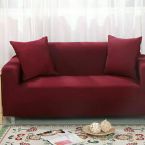 Stretch Sofa Cover Couch Elastic Tight Wrap Slipcover Protector 1 2 3 4 Seater