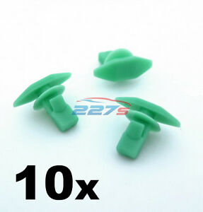 10x Plastic Weatherstrip, Boot & Door Seal Clips for Honda- 91568-SR2-003