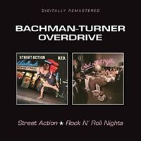 BACHMAN,TURNER,OVERDRIVE - STREET ACTION/ROCK'N'ROLL NIGHTS  CD NEW
