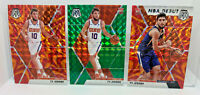 Ty Jerome 3 Card Lot 2019-20 Mosaic Reactive Orange & NBA Debut Prizms Rookies