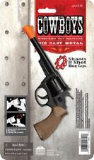 cowboy Western Replica Pistol TOY CAP GUN WITH ORANGE TIP LENGTH 7 1/4″