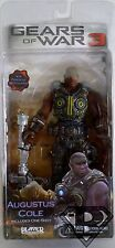 "AUGUSTUS COLE Gears of War 3 Video Game 7"" inch Figure Series 2 Neca 2011"