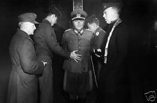 German Wehrmacht General Anton Dosler Execution World War 2, Reprint Photo 7x5""