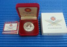 1997 Singapore 30th Anniversary of Asean $10 1oz Silver Proof Coin