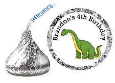 216 DINOSAUR BIRTHDAY PARTY FAVORS HERSHEY KISS LABELS