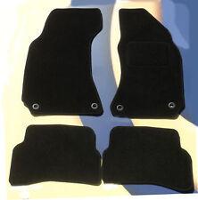 VW Passat CC negro alfombrillas de coche 2007 - 2015 con 4 Redondo Delantero Clips, Conjunto de 4 B