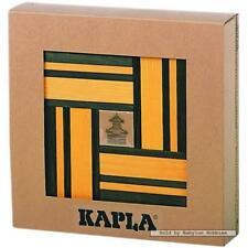 Kapla Blocks - Yellow and Green (40 pc) with book (by Kapla) 00503