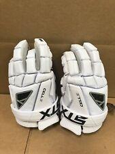 STX Men's Cell IV Lacrosse Gloves Size Medium (White) Brand New